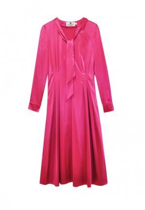 Платье Bergamoda. Цвет: фуксия