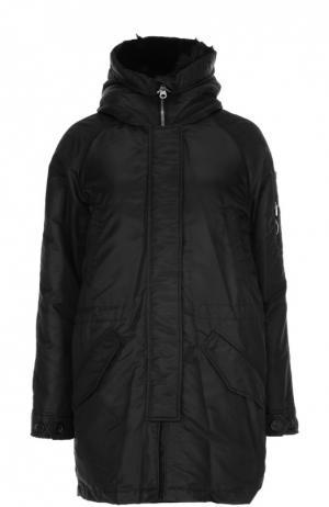 Куртка с воротником Lempelius. Цвет: черный