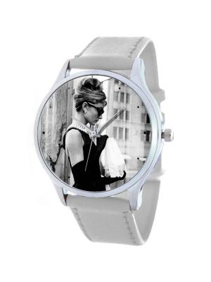 Дизайнерские часы Одри Tina Bolotina. Цвет: черный, серый