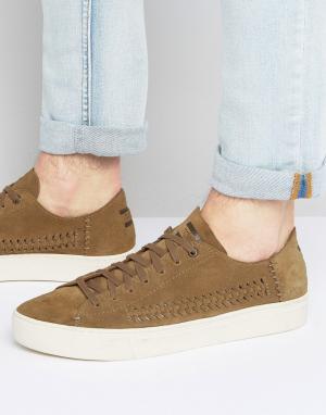 Toms Замшевые кроссовки Lenox. Цвет: рыжий