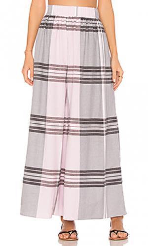 Пляжная юбка-парео paloma Mara Hoffman. Цвет: розовый