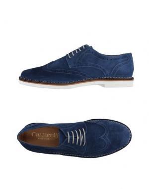 Обувь на шнурках CANTARELLI. Цвет: синий