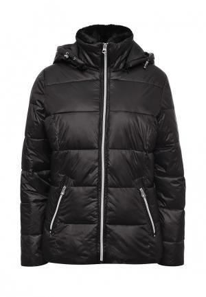 Куртка утепленная Broadway. Цвет: черный
