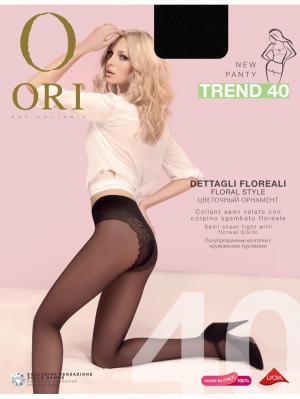 Колготки  ORI Trend 40 den. Цвет: черный