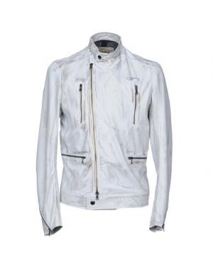 Куртка VINTAGE DE LUXE. Цвет: светло-серый