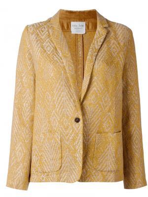 Пиджак My Forte. Цвет: жёлтый и оранжевый