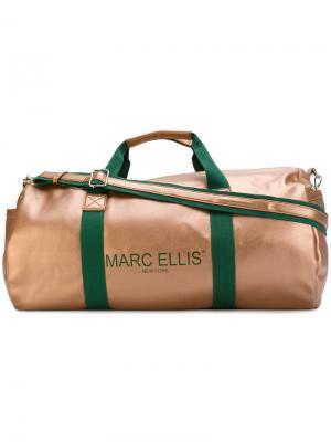 Дорожная сумка Joker Marc Ellis. Цвет: жёлтый и оранжевый