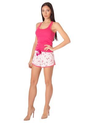 Шорты Belweiss. Цвет: розовый, белый, зеленый, малиновый