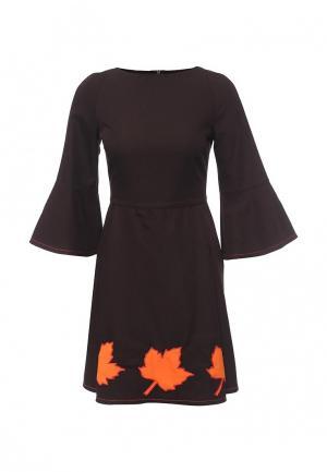 Платье Disash. Цвет: коричневый