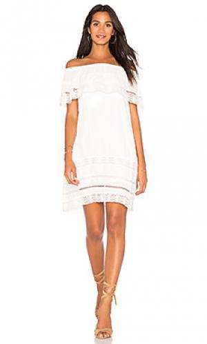 Платье lacey Sanctuary. Цвет: белый