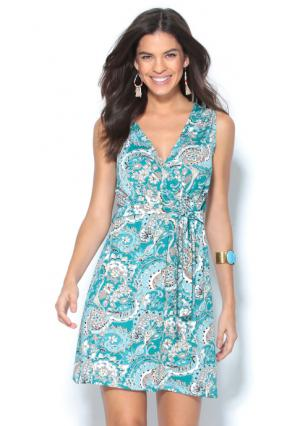 Платье Venca. Цвет: зеленый