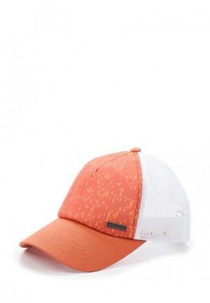 Бейсболка Columbia. Цвет: оранжевый
