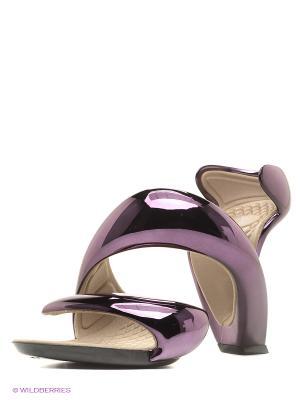 Босоножки JULIAN HAKES. Цвет: фиолетовый