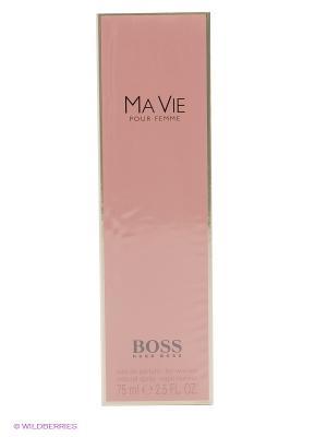 Hugo Boss Ma Vie Парфюмированная вода 75 мл. Цвет: бледно-розовый