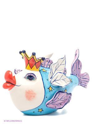 Фигурка Рыба Королева Blue Sky. Цвет: голубой, сиреневый