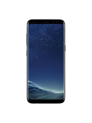 Смартфон Samsung Galaxy S8 (SM-G950FZKDSER), чёрный бриллиант. Цвет: черный