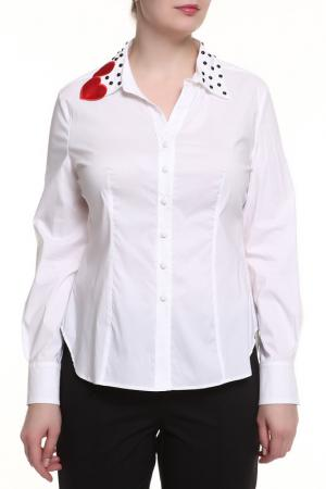 Блуза 22 MAGGIO. Цвет: белый