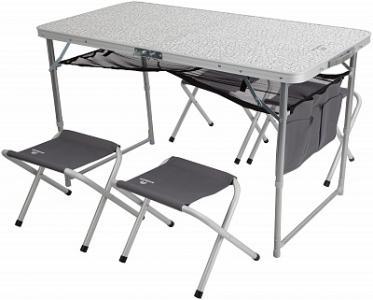 Набор : стол + 4 стула Outventure