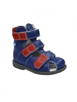 Обувь ортопедическая малосложная DALI, арт. 7.50.2 ORTMANN. Цвет: синий, красный