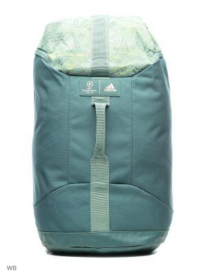 Рюкзак взр. UCL BP  TECGRN Adidas. Цвет: зеленый
