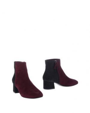 Полусапоги и высокие ботинки JULIE DEE. Цвет: розовато-лиловый