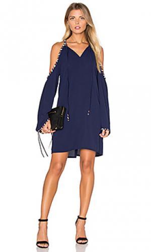 Украшенное платье berlin Deby Debo. Цвет: синий