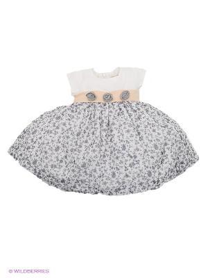 Платье Wojcik. Цвет: серый, белый