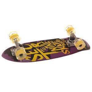Скейт мини круизер  Steady Glo Whl Purple/Yellow 6.75 x 25 (63.5 см) Sector 9. Цвет: фиолетовый,желтый
