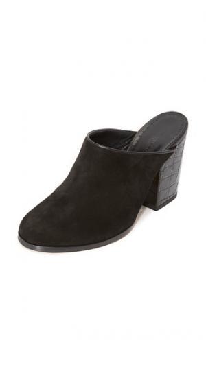 Туфли без задника Aladin Alexa Wagner. Цвет: голубой