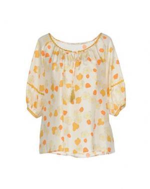 Блузка FAIRLY. Цвет: белый