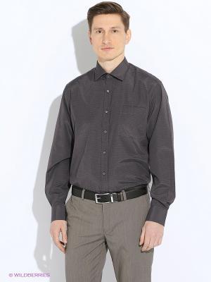 Рубашка Maestro. Цвет: антрацитовый, серый, темно-серый