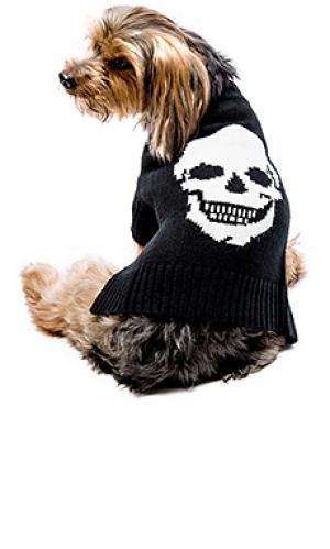 Свитер для собаки skull 360 Sweater. Цвет: черный