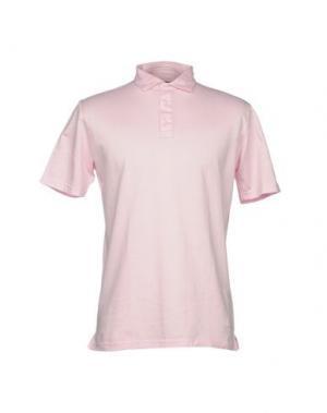 Поло LUIGI BORRELLI NAPOLI. Цвет: розовый