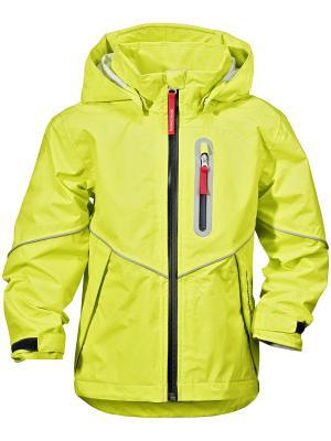Куртка PANI DIDRIKSONS. Цвет: желтый