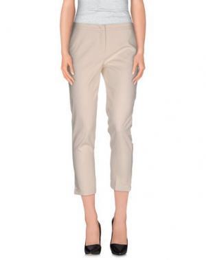 Повседневные брюки SFIZIO. Цвет: слоновая кость