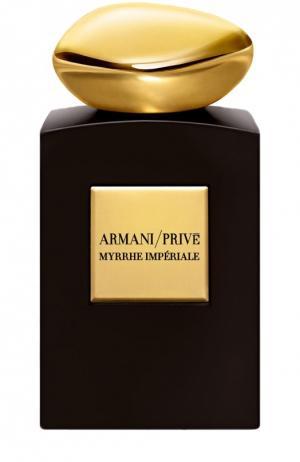 Парфюмерная вода Myrrhe Imperiale Giorgio Armani. Цвет: бесцветный