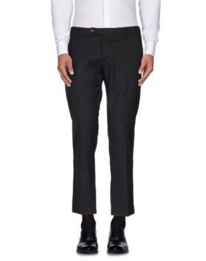 Повседневные брюки MASSIMO BRUNELLI. Цвет: стальной серый