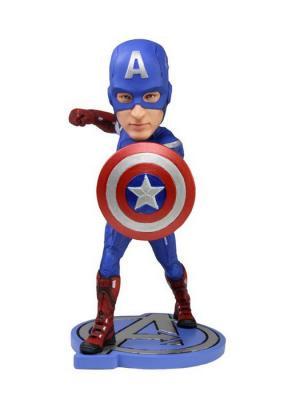 Фигурка Avengers 7 Captain America Headknocker Neca. Цвет: черный, белый, лазурный, серый меланж