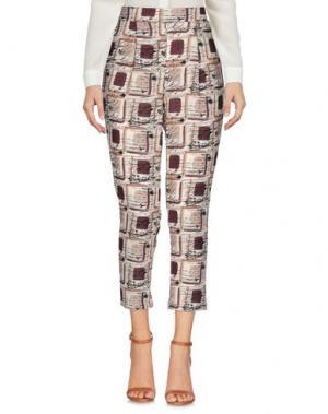 Повседневные брюки VICOLO. Цвет: бежевый