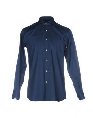 Pубашка DOMENICO TAGLIENTE. Цвет: цвет морской волны