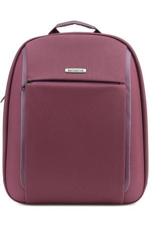 Компьютерная сумка Samsonite. Цвет: фиолетовый