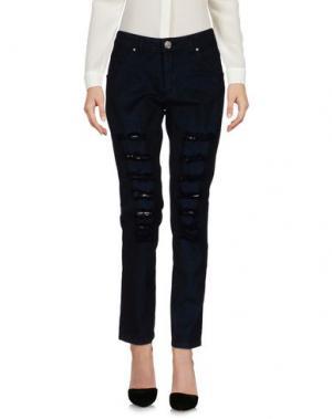 Повседневные брюки BERNA. Цвет: темно-синий
