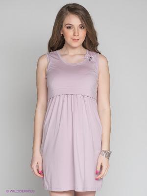 Платье Gemko. Цвет: бледно-розовый
