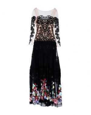 Длинное платье ZUHAIR MURAD. Цвет: черный