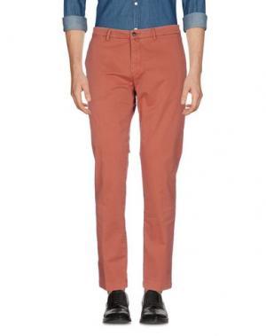 Повседневные брюки BRIGLIA 1949. Цвет: ржаво-коричневый
