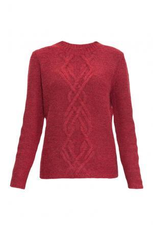 Джемпер 136706 Sweet Sweaters. Цвет: красный