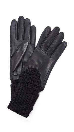Перчатки Cecilia, удобные для использования смартфонов Agnelle. Цвет: голубой