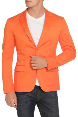 Пиджак Dirk Bikkembergs. Цвет: оранжевый