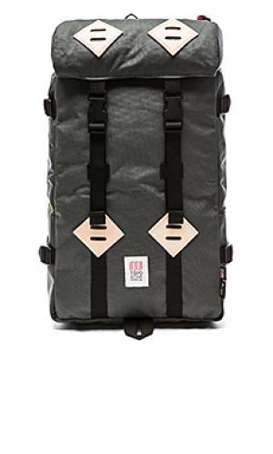 Рюкзак 22l klettersack TOPO DESIGNS. Цвет: уголь