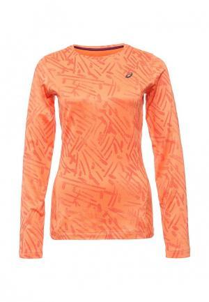 Лонгслив спортивный ASICS. Цвет: оранжевый